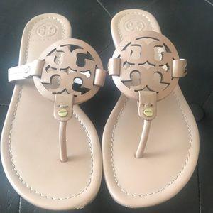 Gently Worn Tory Burch Miller Sandals